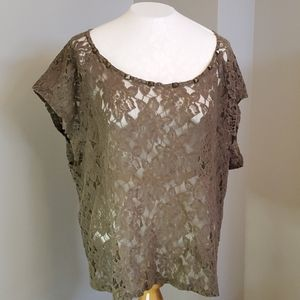 Torrid Lace Shirt Size 2 or 2XL